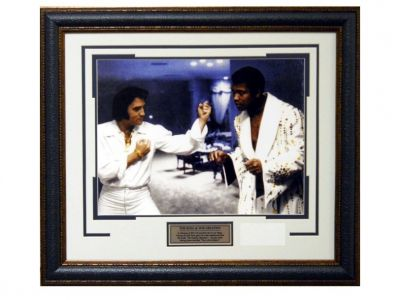 Muhammad Ali with Elvis