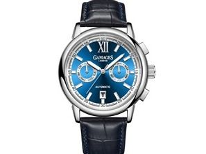 Gamages of London Men's Watch with Blue Dial