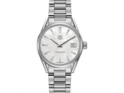 TAG Heuer Ladies Carrera Watch with Mother of Pearl ...
