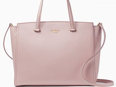 Kate Spade Deep Plush Leather Handbag