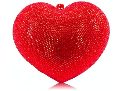 I Love You! Crystal Swarovski Purse
