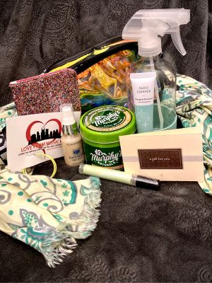 Go Green gift basket