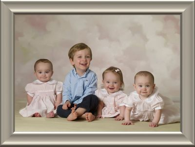 Fine Portrait from Jeff Lubin Portrait Studio (11x14 certificate) - Child Session