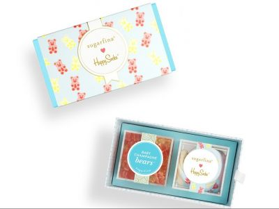 Sugarfina Happy Socks 2pc Bento Box
