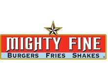 Mighty Fine Burgers, Fries and Shakes - $25...