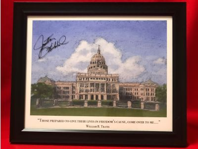 Texas State Capitol Picture with William B....