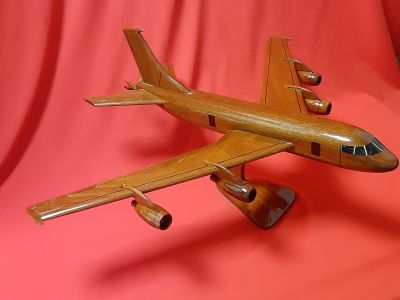 Wooden KC 135 Sculpture