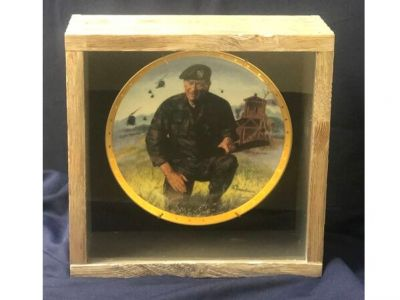 John Wayne Commerative Plate, Limited Editi...