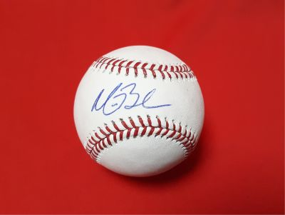 Autographed Baseball Signed By Matt Bush