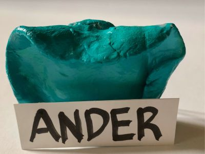Ander-Pottery Ring Holder