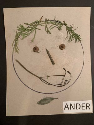 Ander - Self Portrait from nature