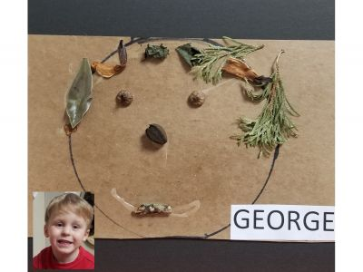 George - Self Portrait from nature