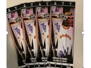 4 Padre Tickets