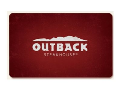 $50 Gift Card - Outback Steakhouse