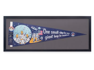 Apollo 11 Framed 'One Small Step for Man, O...