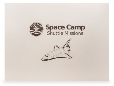Customizable Laser Cut Wall Hanging - Space Camp Shuttle Missions