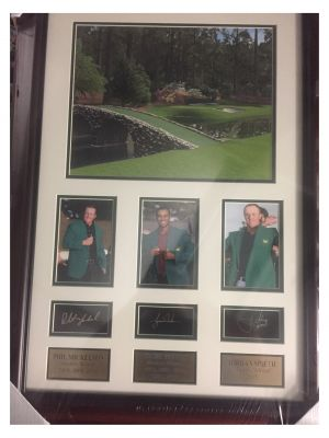 Palmer/Nicklaus/Woods 96 Master Collage