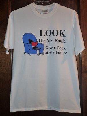 Look. It's My Book T-shirt Size 2XL