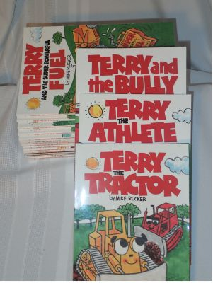 Autographed Terry the Tractor Collection