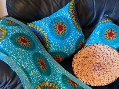 Authentic African Decor to brighten your ho...