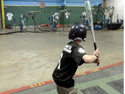 Be a Slugger at Triple Crown Batting Cage