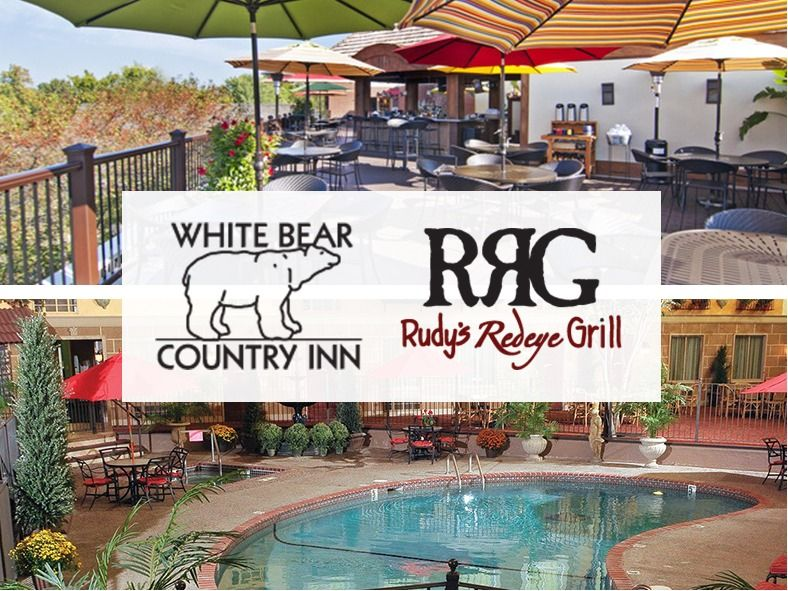 An Overnight Delight! White Bear Country Inn, Rudy's...