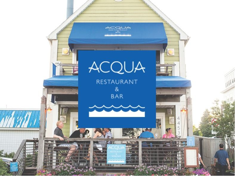 Dinner for 4 at Acqua in White Bear Lake