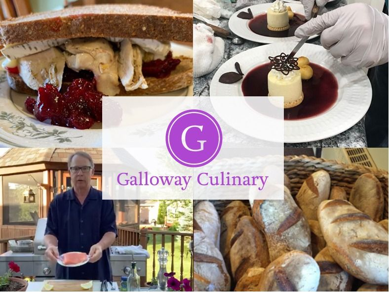 In home Dining with Gourmet Cook Ken Galloway