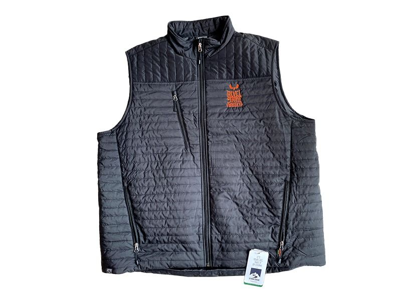 Men's Black Thermolite Quilted Vest from Storm Creek...