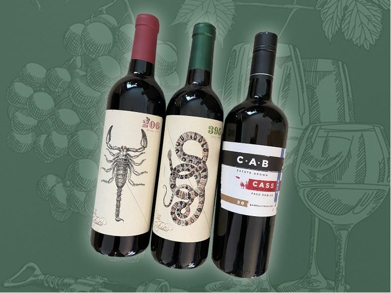 3 Reds for your wine tasting pleasure!