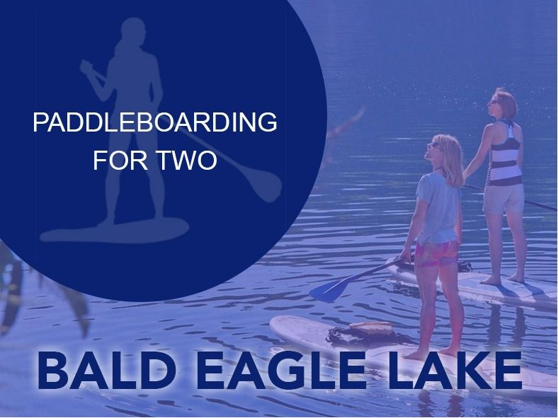 Explore Bald Eagle Lake by SUP Boards!