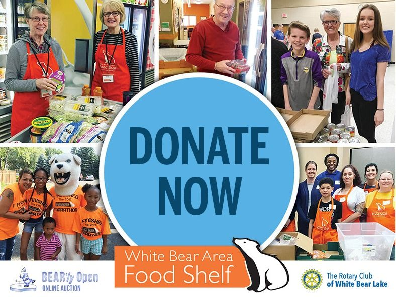 Donate To The White Bear Area Food Shelf