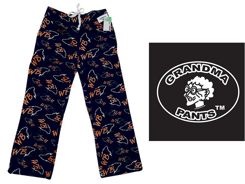 White Bear Fleece Grandma Pants! Adult Large