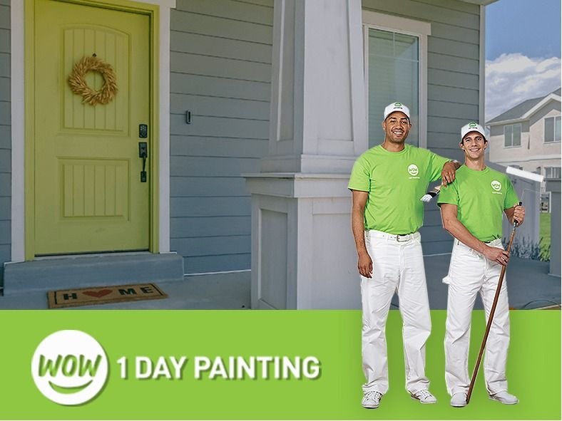 WOW! 1 Day Painting- Exceptional Interior and Exteri...