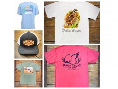 Four Family Shirts & Two Hats from Dallas Wayne Boot Company