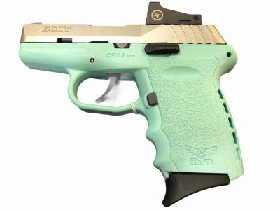 Teal SCCY CPX-2 9mm Pistol