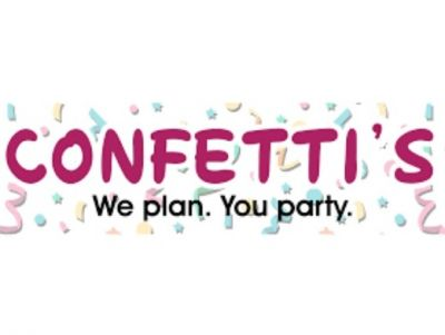 A Fun $75.00 Credit Towards a Party of YOUR Choosing by Confetti