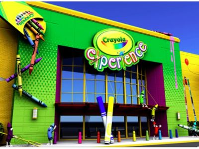 Two Admission Tickets to Crayola Experience in Sunny Orlando FL