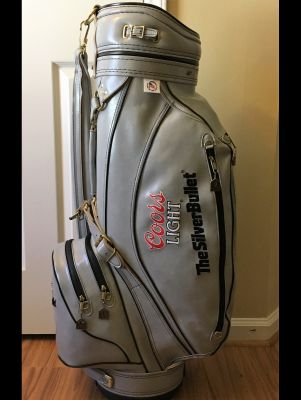 a4712b6bc7c94 Ron Miller Coors Light Custom Golf Bag with Cover Category: Golf