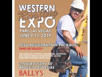 Western Roofing Expo - Registration and 2 N...