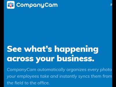 UNLIMITED CompanyCam service FREE for 3 mon...