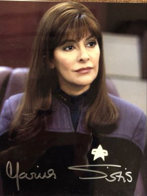 Marina Sirits - Deanna Troi - Star Trek The Next Generation - Signed Photo