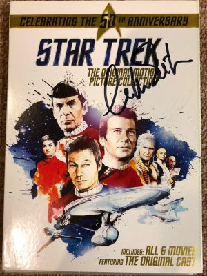 Star Trek Original Motion Picture Collection DVD Set - Signed by Mr. Shatner