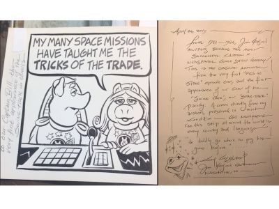 Original Muppets Artchival Artwork - Swine Trek!