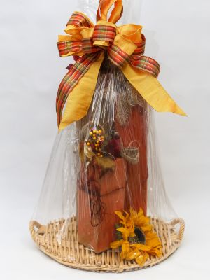 Wooden 3 Tier Fall Decor
