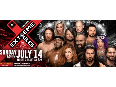 WWE VIP Experience July 14th - with floor s...