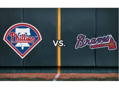 2 Phillies vs Atlanta Braves DIAMOND CLUB T...
