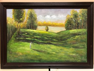 Golfer on the Fairway - ''Starving Artists'...