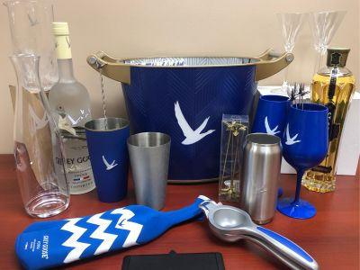 Grey Goose Vodka & Logo LED Ice Bucket ...