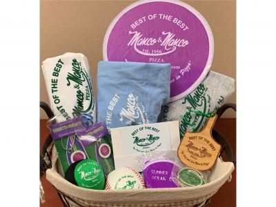 Manco & Manco Pizza Family Fun Basket